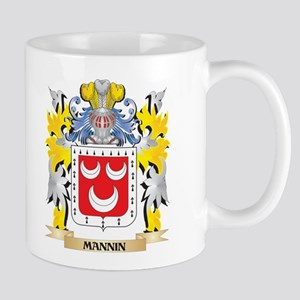 Mannin Coat of Arms - Family Crest Mugs